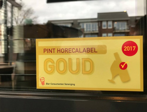 PINT Horecalabel Goud